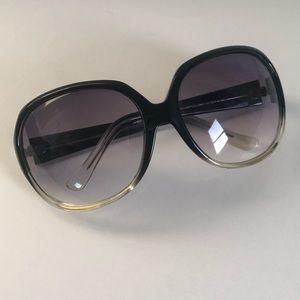 Oversized Ombré Kenneth Cole Reaction Sunglasses